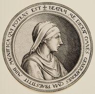 The Virgin in a Circular Medallion