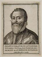 Philippus Emmanuel ex Lotharingis dux Mercurius