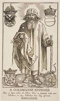 Saint Coloman As A Pilgrim