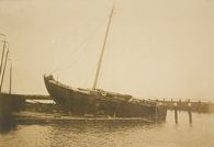 Social Conditions, General: Holland. Isle of Marken: Social Conditions in Holland, 1903: Isle of Marken.: Fishing Boat.