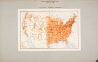Social Conditions, General: United States: Social Conditions, United States, Census of 1900, Composition and Distribution of Population: Twelfth Census of the United States, William R. Merriam, Director., Distribution of the Population: 1900, Plate No. 13