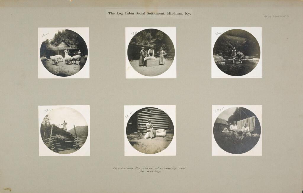 Social Settlements: United States. Kentucky. Hindman.