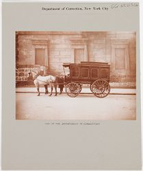Crime, Prisons: United States. New York. New York City. Department of Correction: Department of Correction, New York City: Van of the Department of Correction..   Social Museum Collection