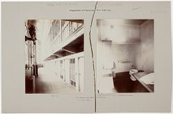 "Crime, Prisons: United States. New York. New York City. ""The Tombs"": Department of Correction, New York City: City Prison (""The Tombs""), Manhattan..   Social Museum Collection"