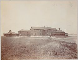 Crime, Prisons: United States. New York. Hart's Island. Branch Workhouse: Department of Correction, New York City: Branch Workhouse, Hart's Island.: Women's Pavilion..   Social Museum Collection
