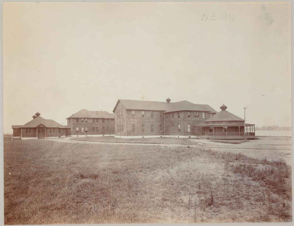 Crime, Prisons: United States. New York. Hart's Island. Branch Workhouse: Department Of Correction, New York City: Branch Workhouse, Hart's Island.: Women's Pavilion.