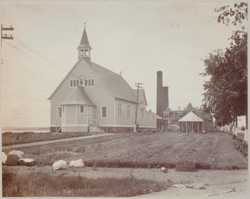 Crime, Prisons: United States. New York. Hart's Island. Branch Workhouse: Department Of Correction, New York City: Branch Workhouse, Hart's Island.: Catholic Chapel.