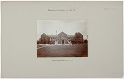 Crime, Prisons: United States. New York. Hart's Island. Branch Workhouse: Department of Correction, New York City: Male Barracks. Branch Workhouse, Hart's Island..   Social Museum Collection