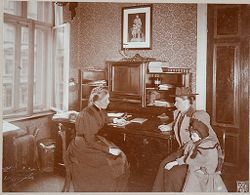 Education, General: Germany. Berlin. Volkskindergarten: Froebelhaus: Reception Room..   Social Museum Collection
