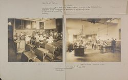 Education, Industrial: United States. New York. New York City. Vacation Schools: New York City Public Schools. Examples of the Adaptation of Education to Special City Needs: Public School No. 147 Manhattan..   Social Museum Collection