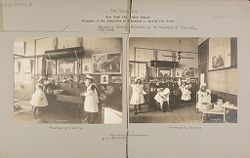 Education, Industrial: United States. New York. New York City. Public Schools, Adaptation to Special City Needs: New York City Public Schools. Examples of the Adaptation of Education to Special City Needs: Public School No. 37 Manhattan..   Social Museum Collection