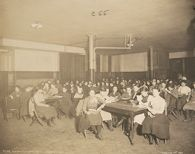 Education, Industrial: United States. New York. New York City. Public Schools, Adaptation to Special City Needs: New York City Public Schools. Examples of the Adaptation of Education to Special City Needs: Evening Play Centre.: Public School No.42 Manhattan.: Games and Reading Room.