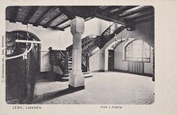 Education, Popular Culture: Germany. Jena: Carl Zeiss Stiftung: Social Conditions in German Cities: 1905: Jena, Lesehalle, Diele u. Aufgang.   Social Museum Collection