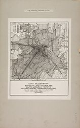 Government, City: United States. Texas. Houston: City Planning, Houston, Texas: City of Houston: Range in Land Values, 1912..   Social Museum Collection