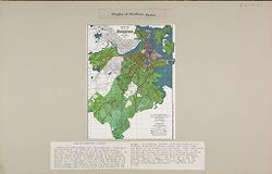 Government, City: United States. Massachusetts. Boston: Heights of Buildings, Boston: Height Districts - Boston: Boston has been divided into two districts - District A and District B.   Social Museum Collection