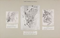 Government, City: United States. New York. New York City: Heights of Buildings, New York City.   Social Museum Collection