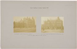 Health, Baths: Great Britain, England. London. St. Pancras: Prince of Wales Baths: This bath has a branch library and a public wash-house.   Social Museum Collection