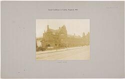 Health, Baths: Great Britain, England. London: Lambeth Baths: Social Conditions in London, England, 1903: Lambeth Baths.   Social Museum Collection
