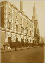 Health, Baths: Great Britain, England. London: Holborn Baths: Social Conditions in London, England, 1903: Holborn Baths.   Social Museum Collection