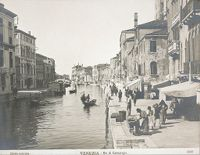 Housing, Conditions: Italy. Venice. Slums: Social Conditions In Venice, Italy: 1905: The Ghetto: Venice.