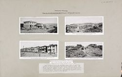 Housing, Industrial: United States. Pennsylvania. Donora: Industrial Housing. Detached and Semi-Detached Houses of Poured Concrete: Built for the American Steel & Wire Co., at Donora, Pa.: Designs by Lambie Concrete House Corporation, New York City. Construction..   Social Museum Collection
