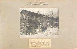 Housing, Industrial: United States. Pennsylvania. Lansford: Industrial Housing, Detached Dwellings of Hollow Tile Construction: Standard Buildings Inc. House #382, Front View - Mann & MacNeille, Architects. Lansford, PA..   Social Museum Collection