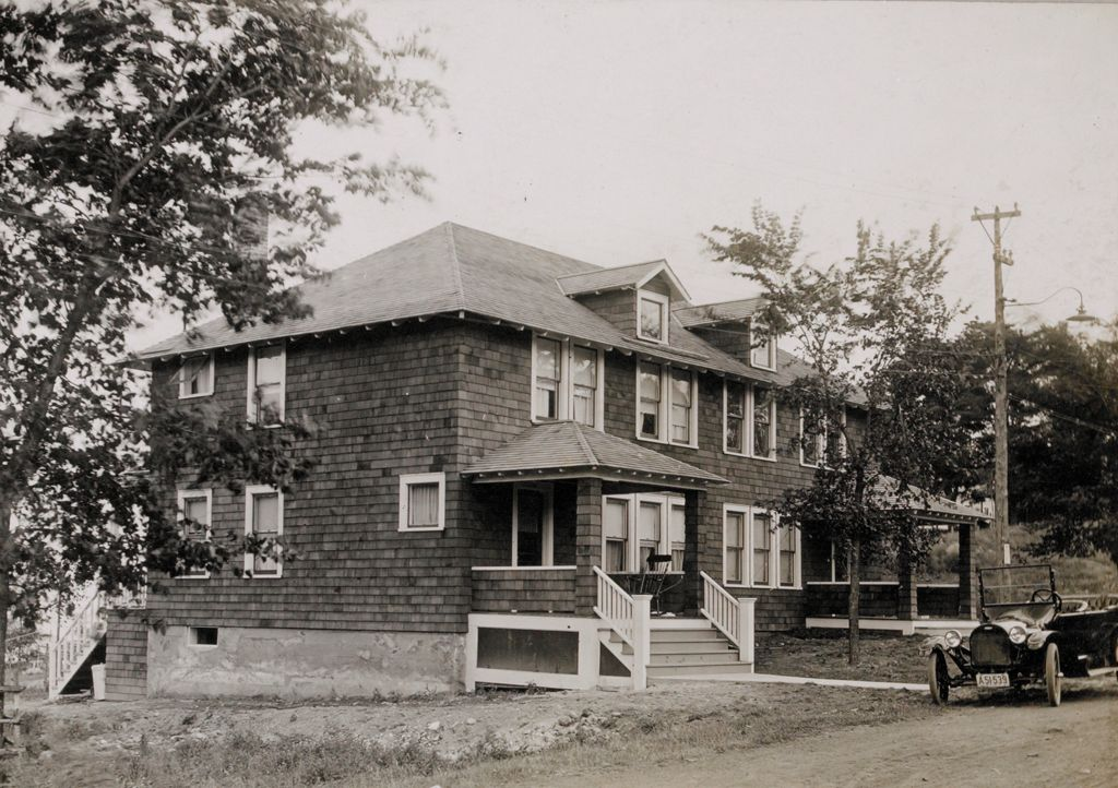 Housing, Industrial: United States. New York. Mineville: Industrial Housing. Semi-Detached Dwellings Of Frame Construction: Witherbee, Sherman & Company, Mineville, N.y.: Iii