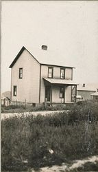 Housing, Industrial: United States. Pennsylvania. Atlasburg: Industrial Housing: Detached Dwellings of Frame Construction: Atlas Coal Company, Atlasburg, Pa. (See Card 1)..   Social Museum Collection