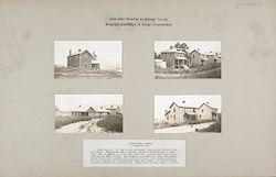 Housing, Industrial: United States. Pennsylvania. Atlasburg: Industrial Housing in Mining Towns: Detached Dwellings of Frame Construction: Atlas Coal Company Atlasburg, Pa..   Social Museum Collection
