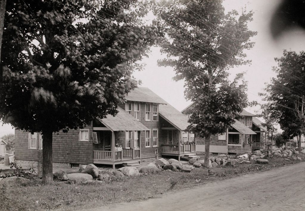 Housing, Industrial: United States. New York. Mineville: Industrial Housing. Semi-Detached Dwellings Of Frame Construction: Witherbee, Sherman & Company, Mineville, N.y.: Ii