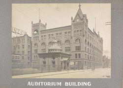 Industrial Problems, Welfare Work: United States. Pennsylvania. Philadelphia. H. J. Heinz Company: Auditorium Building.   Social Museum Collection