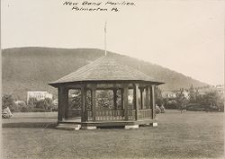 Industrial Problems, Welfare Work: United States. Pennsylvania. Palmerton: Industrial Welfare Work of the New Jersey Zinc Company: New Band Pavilion. Palmerton Pa..   Social Museum Collection