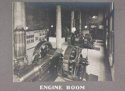 Industrial Problems, Welfare Work: United States. Pennsylvania. Philadelphia. H. J. Heinz Company: Engine Room.   Social Museum Collection