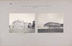 Races, Indians: United States. New York. Iroquois. Thomas Asylum for Orphan and Destitute Indian Children: State Thomas Asylum for Orphan and Destitute Indian Children, Iroquois, N.Y..   Social Museum Collection