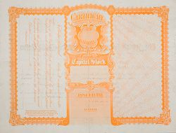 Races, Jews: United States. Jewish Farmers Cooperative Credit Union: Certificate for Shares of the Capital Stock.   Social Museum Collection