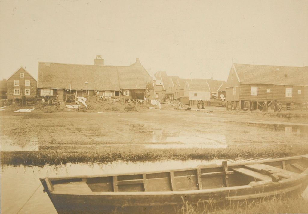 Social Conditions, General: Holland. Isle Of Marken: Social Conditions In Holland, 1903: Isle Of Marken.: Fisher Cottages.