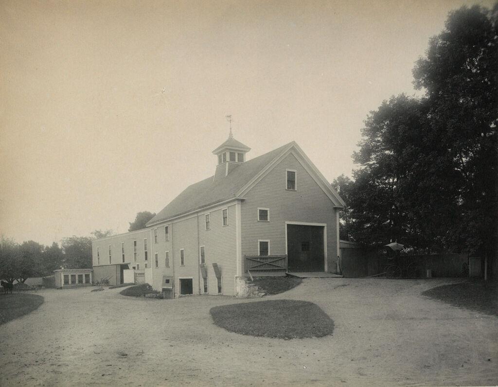 Crime, Children, Truant Schools: United States. Massachusetts. Lawrence. Essex County Truant School: Essex County Truant School, Lawrence.: The Barns And Hennery.