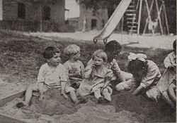 Miscellaneous [children at play].   Social Museum Collection