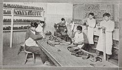 Miscellaneous: Training for general manufactures ?: (?) out ?.   Social Museum Collection