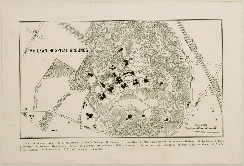Defectives, Insane: United States. Massachusetts. Waverly. Mclean Hospital: Mclean Hospital, Waverly, Mass.: A Department Of The Massachusetts General Hospital Constituting A Private Hospital For The Insane: Mclean Hospital Grounds