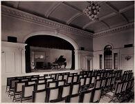 Defectives, Insane: United States. Massachusetts. Waverly. McLean Hospital: McLean Hospital. Pierce Building (Administration): Entertainment hall