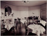Defectives, Insane: United States. Massachusetts. Waverly. Mclean Hospital: Mclean Hospital. Womens Belknap: Dining Room