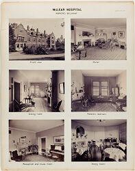 Defectives, Insane: United States. Massachusetts. Waverly. McLean Hospital: McLean Hospital. Womens Belknap.   Social Museum Collection