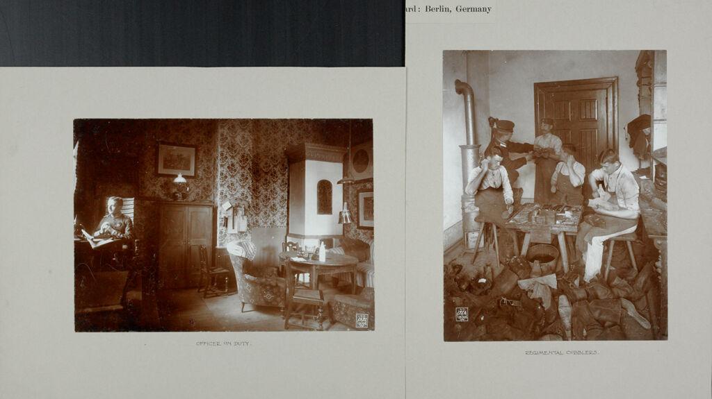 War: Germany. Berlin. Prussian Guard Regiment: Life In A Regiment Of The Prussian Guard: Berlin, Germany