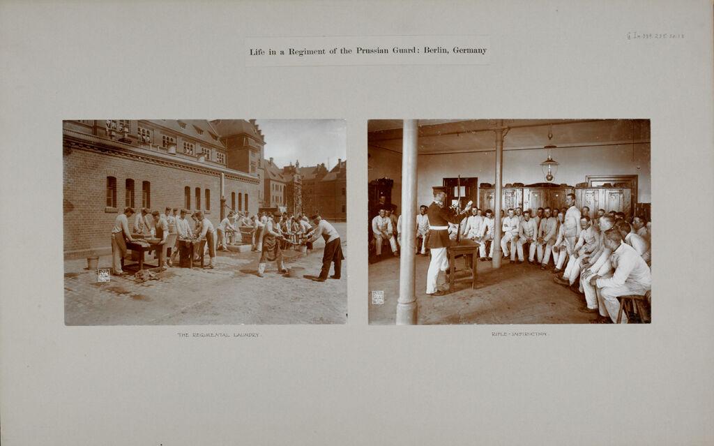War: Germany. Berlin. Prussian Guard Regiment: Life In A Regiment Of The Prussian Guard