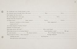 Miscellaneous: United States. Social Surveys: Schedules prepared for Use in Rural Social Surveys.   Social Museum Collection