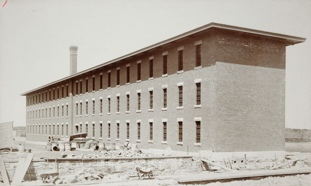 Charity, Public: United States. Massachusetts. Bridgewater. State Farm: State Farm: New Prison Building.
