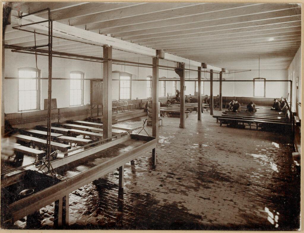 Charity, Public: United States. Massachusetts. Bridgewater. State Farm: State Farm: Dormitory Building Interior 1St Floor.