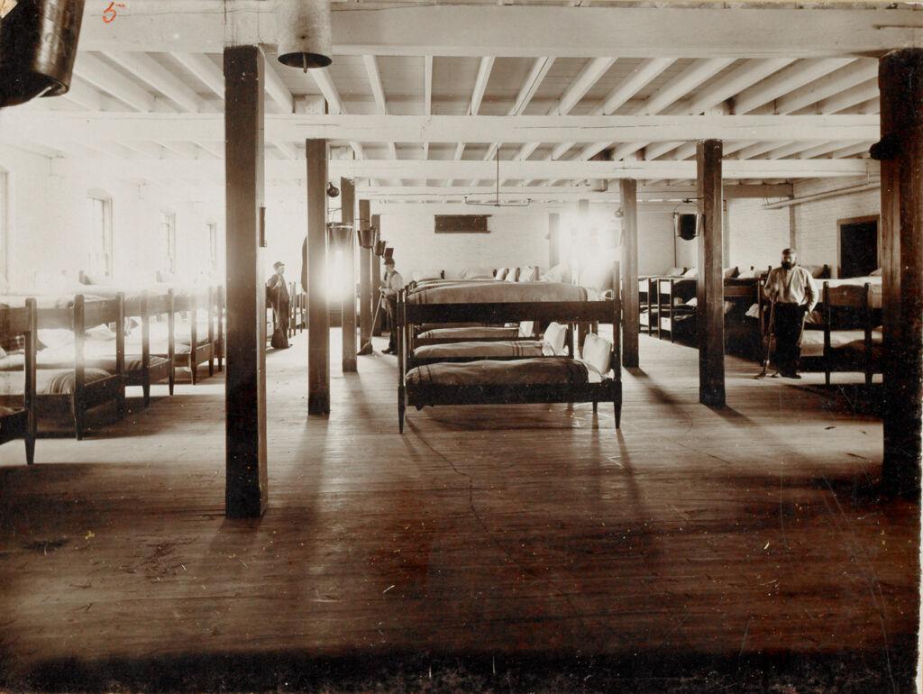 Charity, Public: United States. Massachusetts. Bridgewater. State Farm: State Farm: Loafing Room, Almshouse Dept.