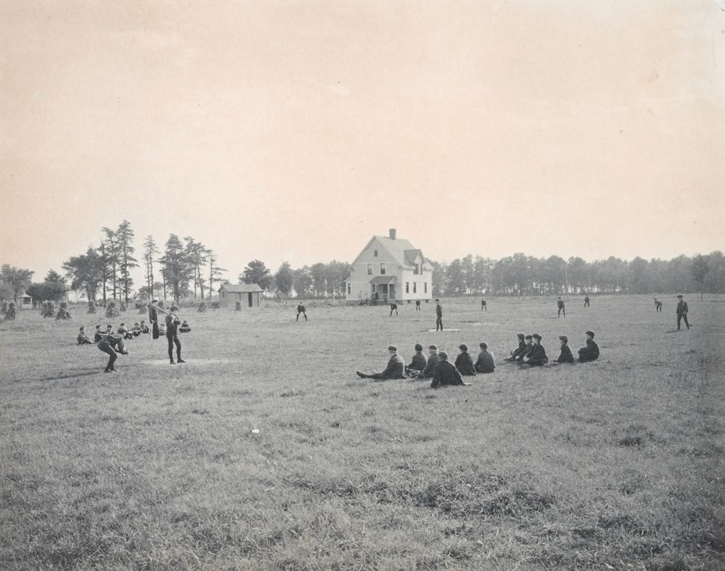 Crime, Children, Truant Schools: United States. Massachusetts. Springfield. Hampden County Truant School: Hampden County Truant School, Springfield.: A Game Of Base Ball.